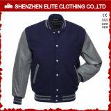 Оптовая продажа куртки бомбардировщика 2017 подгонянная зимой шерстей кожи Mens (ELTBQJ-538)