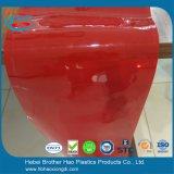 Cortina plástica de la tira de la puerta de la soldadura del PVC del vinilo de la seguridad roja de la pantalla del almacén