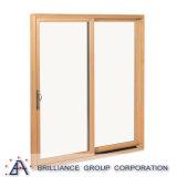 De moderne Schuifdeur van het Glas van het Aluminium van het Bewijs van het Ontwerp Correcte Dubbele