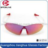 L'ordonnance détachable blanche polarisée pêchant la lumière faite sur commande de marque en verre encadre les lunettes de soleil interchangeables de lentille