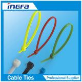 Колючка металла фиксируя связь кабеля нейлона 66