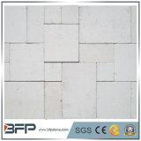 Telhas brancas naturais chinesas da pedra calcária com boa qualidade