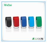 Movimentação de couro do flash do USB da alta qualidade com baixo custo (WY-L18)