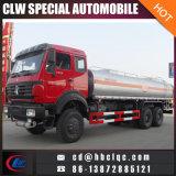 제조 Northbenz 6X6 20m3 가스 탱크 트럭 기름 트럭 유조선