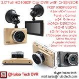 Caméra portable de caméra mobile haute définition 3.0inch Full HD1080p avec caméscope de voiture 5.0mega, dans Dash DVR-3005