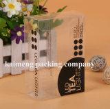 Étui de coffre en plastique pliable en plastique pour paquet cadeau (étui PP)