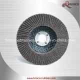 Disco Flap ossido di alluminio con fibra di vetro Backup