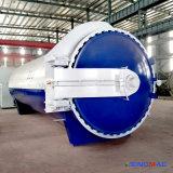 autoclave di gomma orizzontale di Vulcanizating del riscaldamento indiretto del vapore di 3000X8000mm