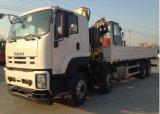 Isuzu 트럭에 의하여 거치되는 기중기 트럭 12-18 톤 들기
