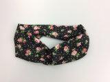 Form-Kleid-Zubehör-Polyester-Druck-Blume Hairband für Frauen