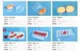 Bac en plastique à usage unique et transparent Plateau d'emballage de fruits Plateau de conditionnement de légumes