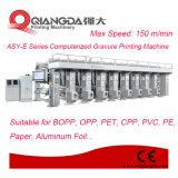 Asy-E Series Computarizado Máquina de tren de papel de aluminio de impresión en huecograbado