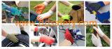 "2017 Ddsafety Неон оранжевый нейлон серый латексные перчатки с ""мятым"" эффектом завершена"
