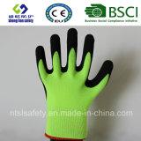 Вкладыш 13 датчиков Nylon, покрытие нитрила, перчатки работы безопасности отделки Sandy (SL-NS107)
