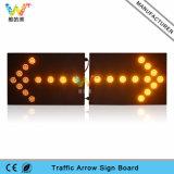 Deux parts de 52mm DEL de lumière clignotante de la circulation DEL de panneau de flèche