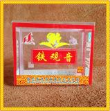 Imballaggio libero su ordinazione di vendita al dettaglio della scatola di plastica per il tè cinese