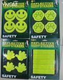 공중 사려깊은 표시, 공장에서 사려깊은 안전 데우는 스티커