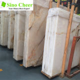 Natural White Onyx Snowhite Translucent Marble White Onyx Slab