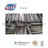AISI C1060 raffinent l'axe de pivotement huilé