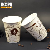бумажный стаканчик кофеего двойной стены 12oz горячий с крышкой