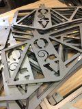 Haute précision laser CO2 CNC de la faucheuse pour le prix d'acier