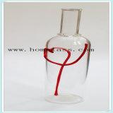 Garrafa de vinho de vidro/garrafa de vidro de licor negro/garrafa de Bebidas Espirituosas/Rodízios/ Boticário misturador