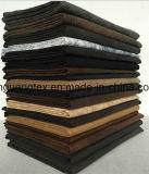 75D Einschlagfaden-Veloursleder-Gewebe des Polyester-acht für Kleid/Schuhe/Sofa/Kissen/Hauptgewebe/Beutel