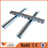 Het de opgeschorte Nagel en Spoor van het Metaal van het Systeem van het Plafond van het Kanaal van de Haak voor Drywall