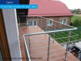 Перил балкона перил балкона Railing балкона декоративных алюминиевый