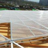 Алюминиевая панель сетки Sytle треугольника для внешнего украшения