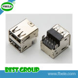 Tipo connettore doppio del USB del connettore (FBELE) del USB di Fbusba2-115f