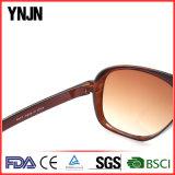 Солнечные очки рамки большой рамки Ynjn сверхразмерные пластичные