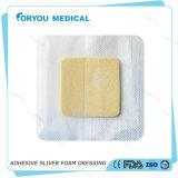 Huizhou necrótico Apósito antimicrobiano apósitos de espuma de iones de plata