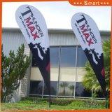 Bandierina della piuma di pubblicità esterna di promozione della fabbrica