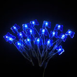 Borboleta 20 LED bateria operada Micro Copper Wire String Fairy Party Xmas Wedding Light