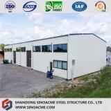 中国はプレハブの産業鉄骨構造の倉庫をカスタム設計する
