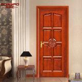 Schlafzimmer-externes hölzernes Tür-festes Teakholz-hölzerne Türen (GSP2-004)