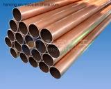 Aleación de cobre del tubo, tubo de cobre níquel C70600 C71500 C71640 C70400 C7060X, CuNi90 / 10 CuNi70 / 30 para el intercambiador de calor, industria naval, la energía nuclear