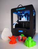 Máquina de impressora 3D de chapa de aço completa com tela LCD, gabinete multicolorido e fechado