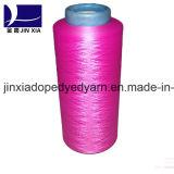 폴리에스테 털실 진한 액체에 의하여 염색되는 200d/96f DTY