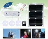 Facile installer l'éclairage de Chambre de nécessaire d'énergie solaire avec le GV de RoHS de la CE
