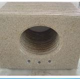Losa/azulejo/escalera oxidados Polished del granito (G682), granito amarillo