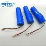 3.7V Pak van de Batterij van het 4000mAh het Navulbare Lithium 6800mAh met Ce voor e-Hulpmiddelen