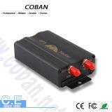 Perseguidor do veículo de seguimento do GPS da antena externa com alarme do combustível (Coban TK103A)