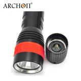 Archon G6 Dry Battery Super Superbe LED Lumière de plongée LED Classic Aluminium puissante Scuba Diving Torch Light