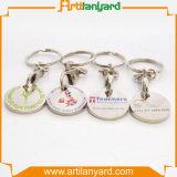 Moneta Keyholder del carrello di marchio del cliente
