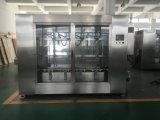 Máquina tampando de enchimento do líquido detergente automático