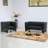 Il sofà nero commerciale del salone ha impostato con la tappezzeria dell'unità di elaborazione (SP-KS366)
