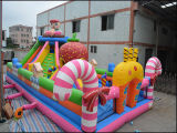 Het reuze Opblaasbare Kasteel Bouncy van de Pret van het Speelgoed Eerlijke voor Vermaak (T6-030)