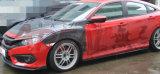 Cara Skirtsfor Honda de la fibra del carbón Civci 2016 R del estilo